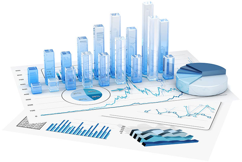 Graphs of statistical calculation